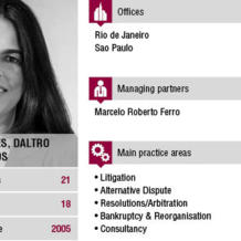 In just over 10 years, Ferro, Castro Neves, Daltro & Gomide has managed to build an excellent reputation in the fields of Arbitration and Litigation. Alice Moreira Franco, one of the founding partners, tells us more about the firm and the current Brazilian context.
