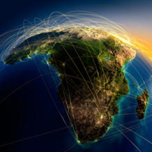 Fifteen percent of the world's population lives on its soil yet Africa only accounts for 3% of the planet's energy consumption.