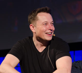 Tesla's CEO -  also CEO and CTO of Space X, made his first fortune cofounding PayPal. The ambitious entrepreneur, who made Tesla's patents accessible to all in 2014, recently published his biography. Portrait.