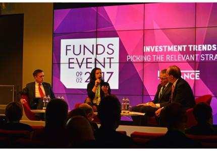 "On February 9th, finance & funds professionals gathered at the ECCL to attend a new edition of FundsEvent. This year's main thematic was ""Investment Trends: Picking the Relevant Strategy"", and international and local experts shared their expertise with the audience on macroeconomic and political challenges but also on the opportunities offered by technology in the funds industry."