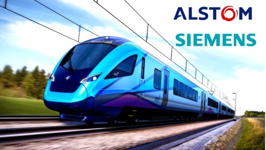 """Siemens, Germany's largest industrial manufacturing company and Alstom, the French high-speed train manufacturer, have agreed to merge rail operations in the face of increasing competition from China's CRRC Corp. and become, in the words of Joe Kaeser, President and CEO of Siemens AG, """"a new European champion"""" in the rail industry."""