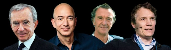 This first-ever edition of Leaders League's rich-list finds the world's wealthiest in fine financial fettle. The combined worth of our billionaires has gone up 15% in the space of a year, passing the two trillion dollar  mark. Read on to discover the deals making their, ever-increasing, fortunes.